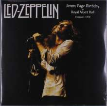 Led Zeppelin: Jimmy Page Birthday At Royal Albert Hall, 2 LPs
