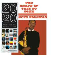 Ornette Coleman (1930-2015): The Shape Of Jazz To Come (180g) (Limited Edition) (Blue Vinyl), LP