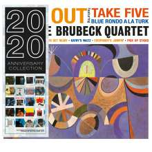 Dave Brubeck (1920-2012): Time Out (180g) (Limited Edition) (Blue Vinyl), LP