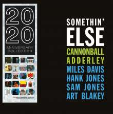 Cannonball Adderley (1928-1975): Somethin' Else (180g) (Limited Edition) (Blue Vinyl), LP