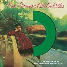 Nina Simone (1933-2003): Little Girl Blue (180g) (Limited Edition) (Green Vinyl), LP