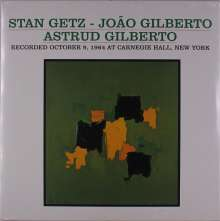 Stan Getz & João Gilberto: Recorded October 9, 1964 At Carnegie Hall, New York, LP