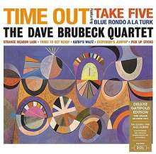 Dave Brubeck (1920-2012): Time Out (180g) (Deluxe Edition), LP