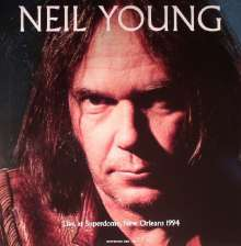 Neil Young: Live At Superdome, New Orleans 1994 (180g), LP