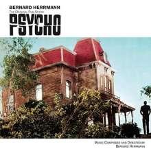 Bernard Herrmann (1911-1975): Filmmusik: Psycho (Original Score) (180g) (Limited Edition) (Red Vinyl), LP