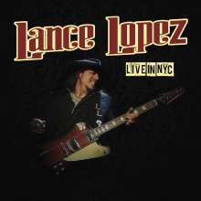 Lance Lopez: Live In NYC, CD