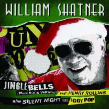 William Shatner: Shatner Claus: The Christmas Album (Limited-Edition) (White Vinyl), LP