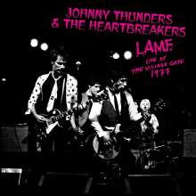 Johnny Thunders: L.A.M.F. Live At The Village Gate 1977 (Limited Edition) (White Vinyl), LP