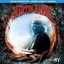 Martin Barre: Live In NYC (Limited Box Set), 2 CDs und 1 DVD