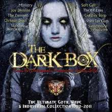 Dark Box: The Ultimate Goth, Wave & Industrial Collection 1980 - 2011, 4 CDs und 1 Merchandise