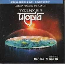 Todd Rundgren's Utopia: Benefit For Moogy Klingman (Special Edition), 4 CDs und 2 DVDs