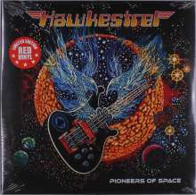 Hawkestrel: Pioneers Of Space (Limited Edition) (Red Vinyl), LP