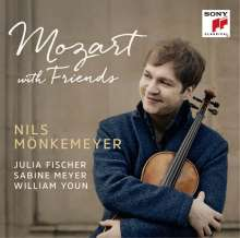 Nils Mönkemeyer - Mozart with Friends, CD