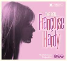 Françoise Hardy: Real... Francoise Hardy, 3 CDs