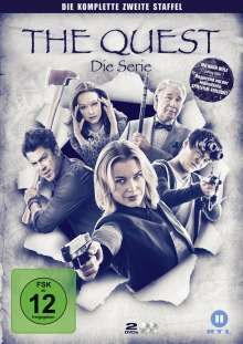 The Quest Staffel 2, 2 DVDs
