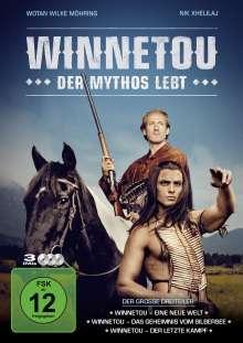 Winnetou - Der Mythos lebt, 3 DVDs