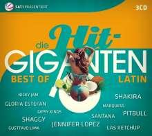 Die Hit Giganten: Best Of Latin, 3 CDs