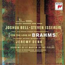 Joshua Bell - For the Love of Brahms, CD
