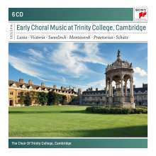 Trinity College Choir - Early Choral Music at Trinity College, Cambridge, 6 CDs