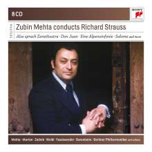 Zubin Mehta conducts Richard Strauss, 8 CDs