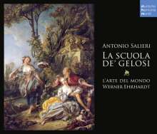 Antonio Salieri (1750-1825): La Scuola de' Gelosi, 3 CDs