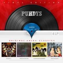 Puhdys: Original AMIGA Classics - Vinyl Edition, 4 LPs