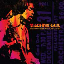 Jimi Hendrix: Machine Gun – The Fillmore East First Show 12/31/1969, CD