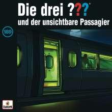 Die drei ??? (Folge 189) - und der unsichtbare Passagier, CD