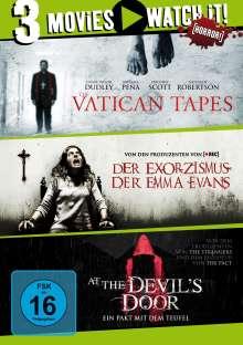 Der Exorzismus der Emma Evans / The Vatican Tapes / At the Devil's Door, 3 DVDs