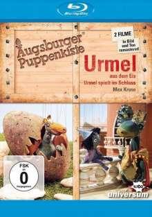 Augsburger Puppenkiste: Urmel aus dem Eis / Urmel spielt im Schloss (Blu-ray), Blu-ray Disc