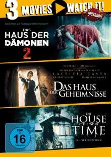 Das Haus der Dämonen 2 / The House at the End of Time / Das Haus der Geheimnisse, 3 DVDs