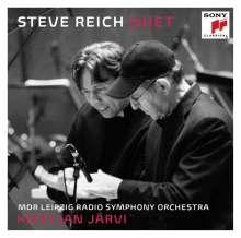 Steve Reich (geb. 1936): Duet (für 2 Violinen & Streichorchester), 2 CDs