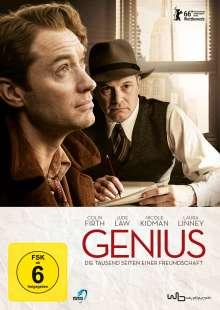 Genius, DVD