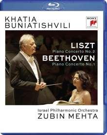 Khatia Buniatishvili - Live in Tel Aviv, Blu-ray Disc