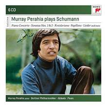 Murray Perahia plays Schumann, 6 CDs