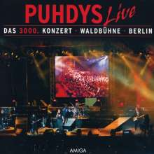 Puhdys: Das 3000. Konzert, 2 CDs