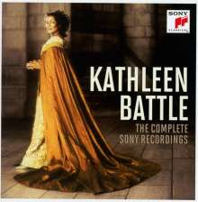Kathleen Battle - The Complete Sony Recordings, 10 CDs