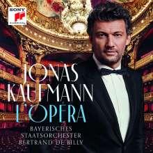 Jonas Kaufmann – L'Opera (Deluxe Edition mit umfangreichem Booklet), CD