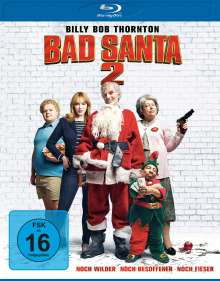 Bad Santa 2 (Blu-ray), Blu-ray Disc