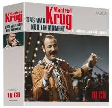 Manfred Krug: Das war nur ein Moment (Die Original AMIGA-Aufnahmen), 10 CDs