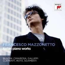 Francesco Mazzonetto - Italian Piano Works, CD