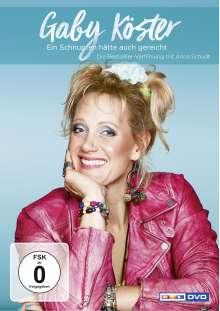 Gaby Köster: Ein Schnupfen hätte auch gereicht, DVD