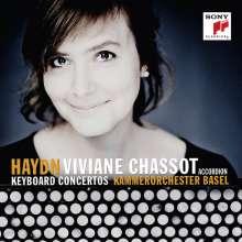 Joseph Haydn (1732-1809): Akkordeonkonzerte nach den Klavierkonzerten H18 Nr.3,4,7,11, CD