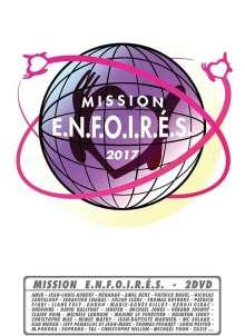 Mission Enfoirés 2017, 2 DVDs
