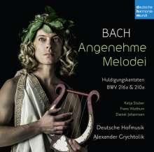 "Johann Sebastian Bach (1685-1750): Kantaten BWV 210a & 216a ""Huldigungskantaten"", CD"