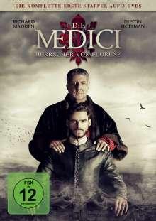 Die Medici Staffel 1 - Herrscher von Florenz, 3 DVDs
