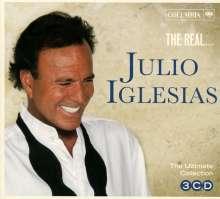 Julio Iglesias: The Real... Julio Iglesias, 3 CDs