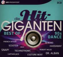 Die Hit-Giganten: Best Of 90's Dance, 3 CDs