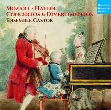 Wolfgang Amadeus Mozart (1756-1791): Cembalokonzerte KV 107 Nr.1-3 nach Johann Christian Bach, CD