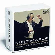 Kurt Masur - Eurodisc Recordings, 16 CDs